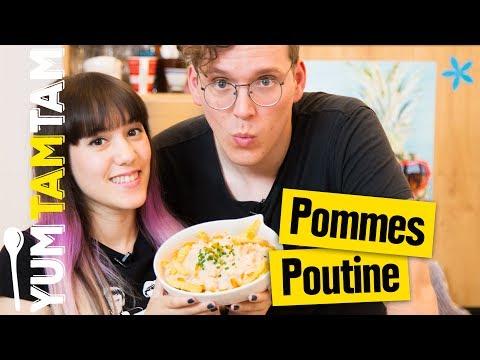 Poutine // Pommes mit Bratensauce // #yumtamtam