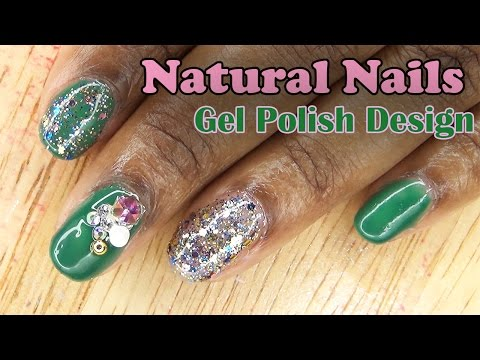 Natural Nails Gel Polish Design | LongHairPrettyNails