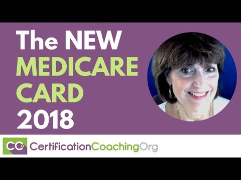 The New Medicare Card 2018