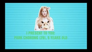 HAPPY BIRTHDAY PARK CHORONG APINK   29 YEARS OLD ACTUALLY A BABY