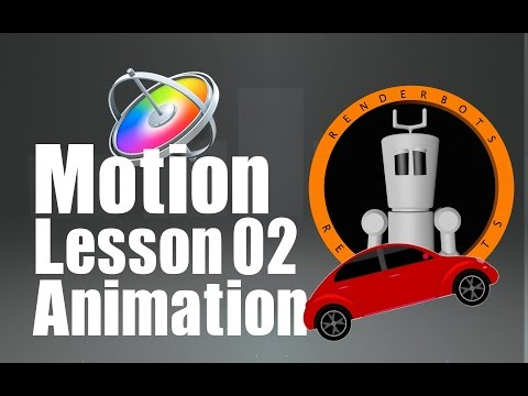 Apple Motion 5 : Lesson 2 : EASY ANIMATION :: Learn to Animate in Apple Motion