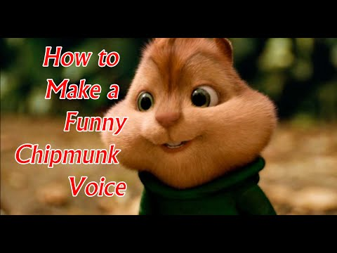Chipmunk voice changer (for Skype calling, making stories)