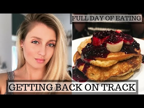 GETTING BACK ON TRACK || WHAT I EAT IN A DAY || HEALTHY BALANCED FOOD