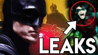 THE BATMAN 2021 LEAKS Robin Appears & SURPRISE Villain Confirmed?!