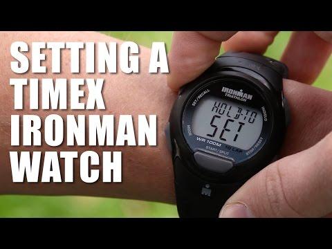 How to Set a Timex Ironman Triathlon Watch
