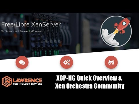 XCP-NG 7.4 Quick Install Overview &  Xen Orchestra Community VS the XOA / XO Appliance