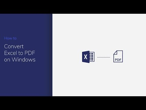 Convert Excel to PDF on Windows with PDFelement