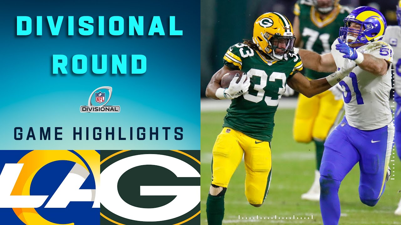 Rams vs. Packers Divisional Round Highlights | NFL 2020 Playoffs