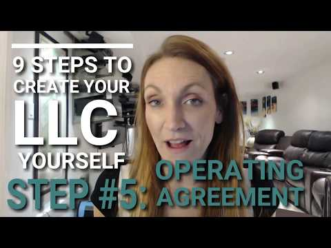 How to Get a Operating Agreement and Why You Should (Form your LLC Business in 5 Days)
