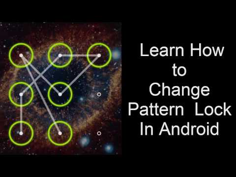How To Set Or Change Pattern Lock In Android Phone