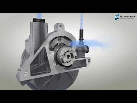 How does a vacuum pump work? (3D animation) - Motorservice Group
