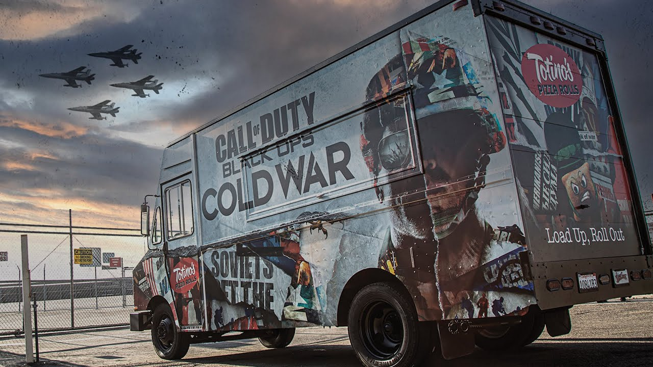 Call Of Duty Cold War Gaming Truck | West Coast Customs