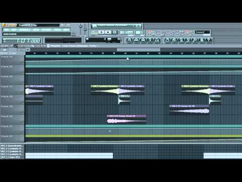 FL Studio Basics Tutorial Part 8 - Trance builds & Sweeps.
