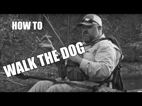 Walking The Dog | JUST THE TIP | Kayak Bass Fishing