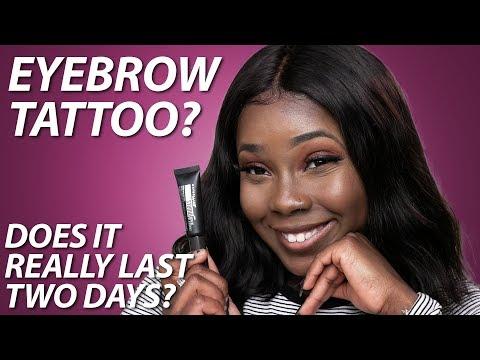 Maybelline Brow Tattoo | Semi-Permanent Eyebrow Tattoo Makeup