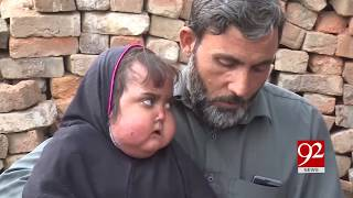 Peshawar | Man seeks financial help for treatment of daughter's mysterious disease