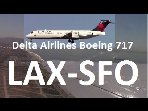 Delta Airlines Flight DL2760 Los Angeles San Francisco