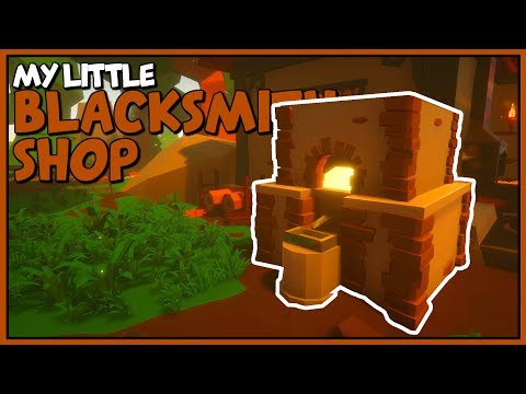 MINING ORES & SMELTING INGOTS - The Mysterious Cave Prison - My Little Blacksmith Shop Gameplay