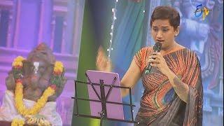 Kalpana Performance - Hai Hai Vinayaka - 5th September 2016 – ETV  Telugu