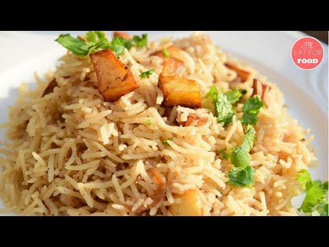 Cumin Rice with Fried Potatoes │Episode 083 │ I'll Eat For Food