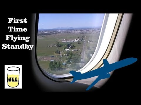 My 1st Non-Rev Trip!  (Flying Standby)