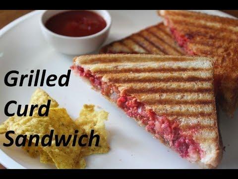 दही से बनाये टेस्टी सैंडविच /Curd/yogurt sandwich by  Raks HomeKitchen
