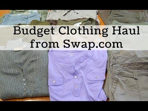 Swap.com Clothing Haul