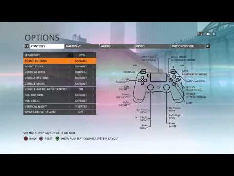 Battlefield Hardline - Default Dual Shock 4 Controls / Button Layout Options & Information PS4