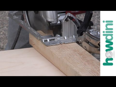 How to use Locking Pliers as a Circular Saw Cutting Guide