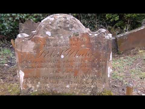 I Get into the Old Cemetery at Knock Belfast 1644