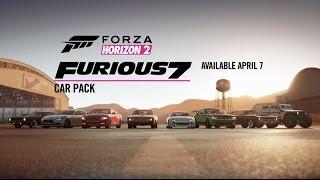 Forza Horizon 2 - Furious 7 Car Pack