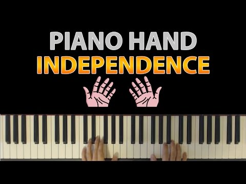 Simple Exercise To Improve Piano Hand Independence (Between Left and Right Hands)