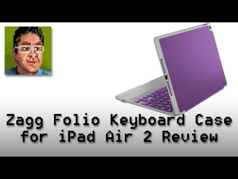 Zagg Folio Keyboard Case for the iPad Air 2 Review
