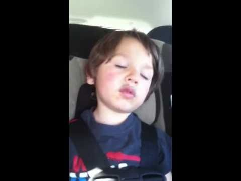 Damien Falling asleep Part 1
