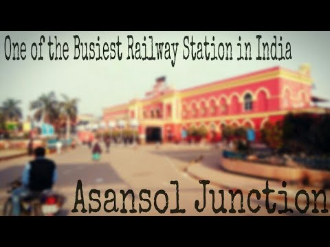 Asansol Junction Railway Station #One of the busiest railway station in India