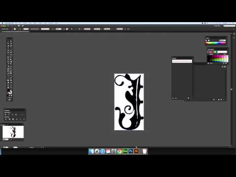 How to place / edit SVG files in Photoshop (via Illustrator) (Intermediate) tutorial
