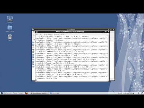 Maven Tutorial 05 - A Web Application Using Maven