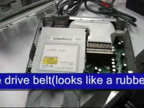 XBOX 360 How To Fix Repair a Stuck Drive DIY