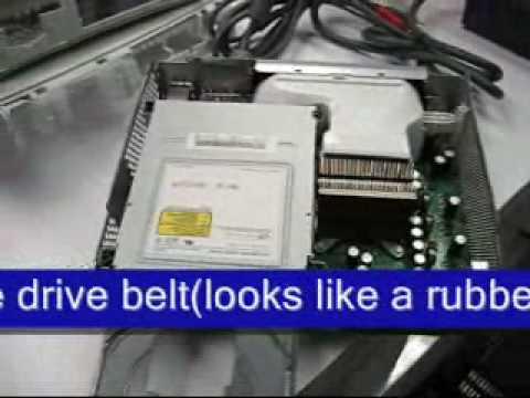 XBOX 360 How To Fix Repair a Stuck Drive DIY