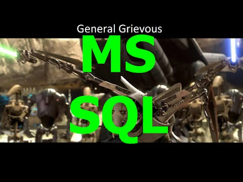 MS SQL - Create a simple Data Base