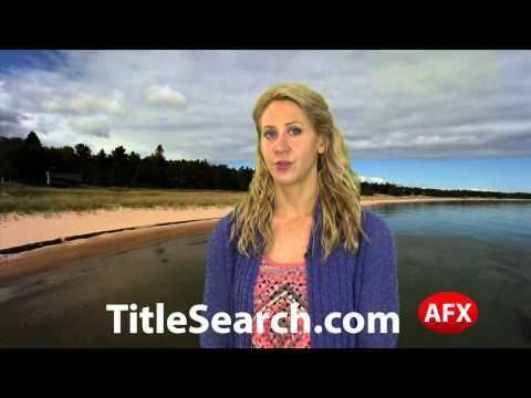 Property title records in Dickinson County Michigan   AFX