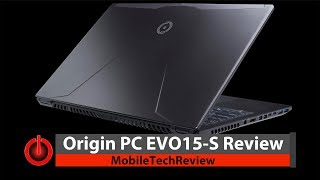 Origin PC EVO15-S Review