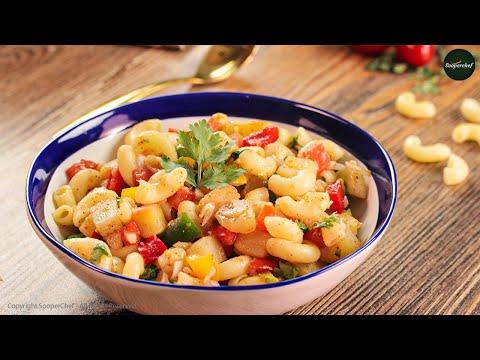 Macaroni Chaat Recipe with Homemade Chaat Masala By SooperChef (Ramzan Recipe)