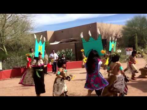 Hopi Butterfly Dance at Desert Botanical Garden