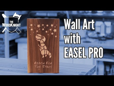 Wall Art with Easel Pro