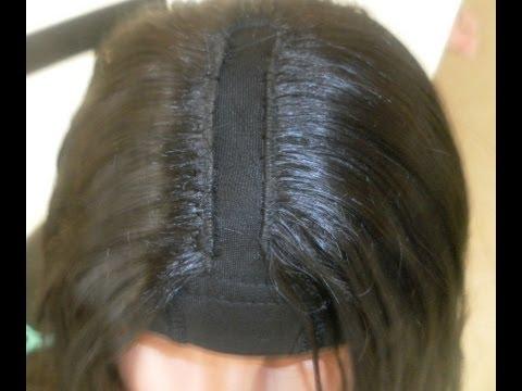 D.I.Y How To Make a U-Part Wig