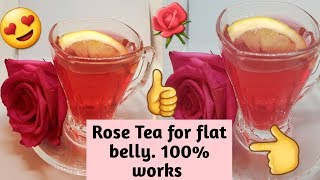 Only 2 Cups a Day for 1 Week for a flat belly