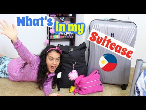 What's in my Suitcase for The Philippines + Packing Tips!