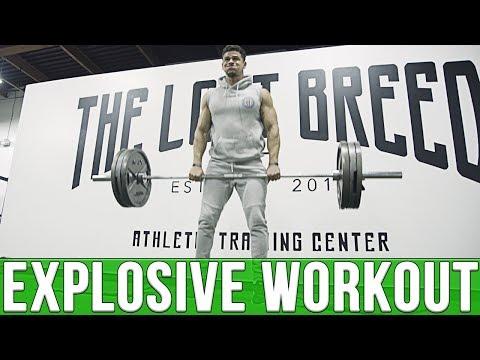 INTENSE Explosive Workout | ATHLETIC TRAINING