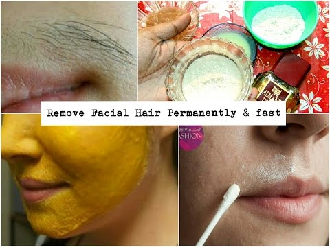 How to remove facial hair at home | 5 miracle ingredients | simple DIY |